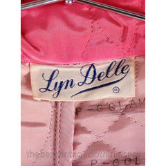 Vintage I Love Lucy Pajamas Womens Fuchsia Lyn Delle 1950s 46-28-40  Medium - The Best Vintage Clothing  - 7