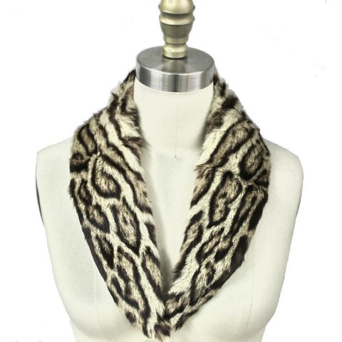 Vintage Fur Collar Ocelot 1950s for your coat