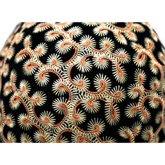 Vintage Hat Jack O'Connell Russ Russell Embroidered Black / Copper 1950S - The Best Vintage Clothing  - 5