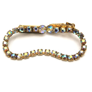 Vintage Sparkly Sweater Clip Aurora Borealis Rhinestones 1950 - The Best Vintage Clothing  - 1