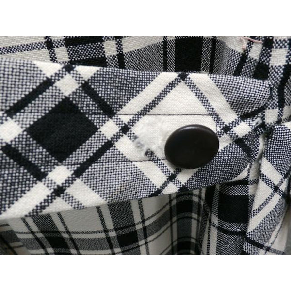 Vintage Suit Sybil Connolly Dublin Black/White Huge Plaid /Huge Pockets 1960s 38-26-38 - The Best Vintage Clothing  - 8