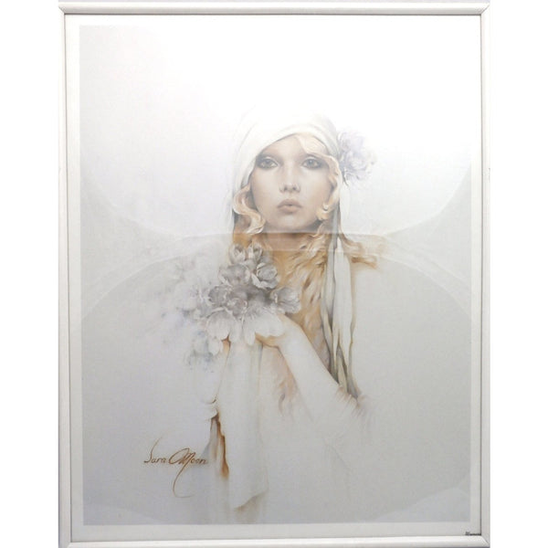 Vintage Framed Print #2 Sara Moon Verkerke Beautiful 1980s Print w/ 1920s Look - The Best Vintage Clothing  - 6