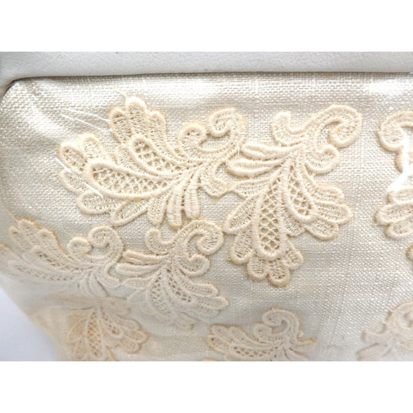 Vintage Purse Clear Plastic-Covered Lace Applique1950S - The Best Vintage Clothing  - 4