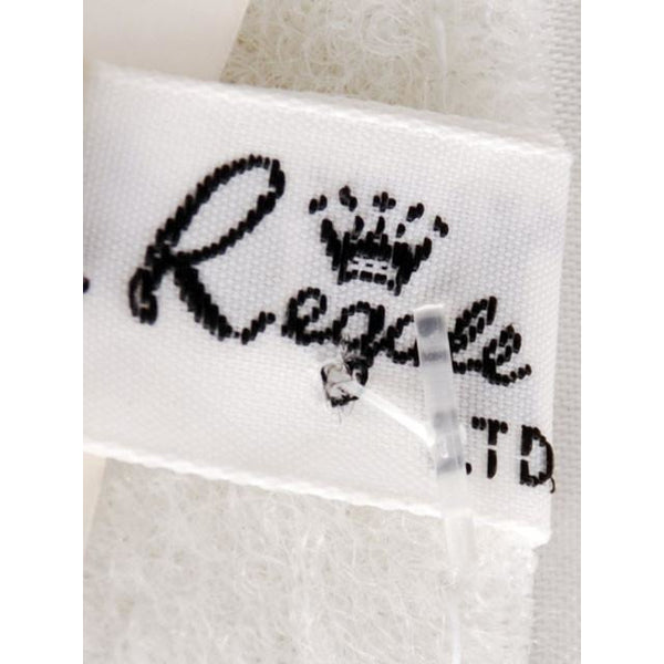 Vintage 1980s La Regale Beaded Womens Belt Silver & Clear Size M New Tags - The Best Vintage Clothing  - 9