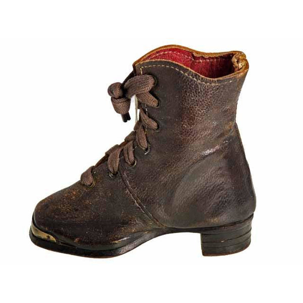 Rare Antique Childs Boot ( single) 1847 Hand Made - The Best Vintage Clothing  - 5