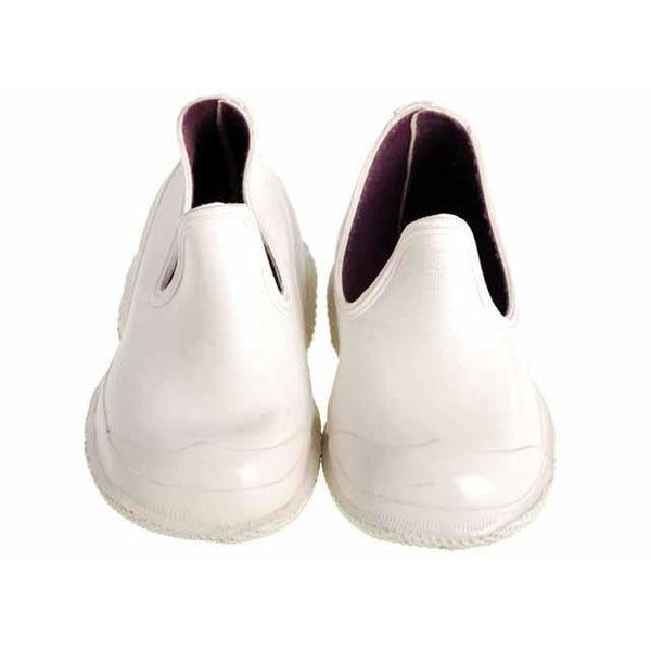 Rare Vintage Childrens Shoes New/Old White Rubbers Rubber Booties  1950s - The Best Vintage Clothing  - 3