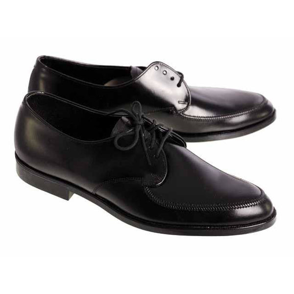 Vintage Boys Black  Oxford Pointed Toe Leather Shoes NIB 1950s - The Best Vintage Clothing  - 5