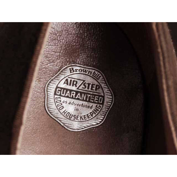 Vintage Brown Suede/Leather Mary Jane Shoes 1930s NIB 6 Air Step/Brown Bilt - The Best Vintage Clothing  - 8