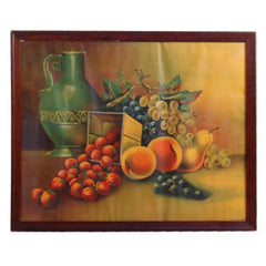 Antique  Print Framed California Fruits James Lee 3122 - The Best Vintage Clothing  - 1