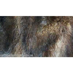Antique Brown Muskrat Fur Muff Victorian Large Excellent Original - The Best Vintage Clothing  - 2