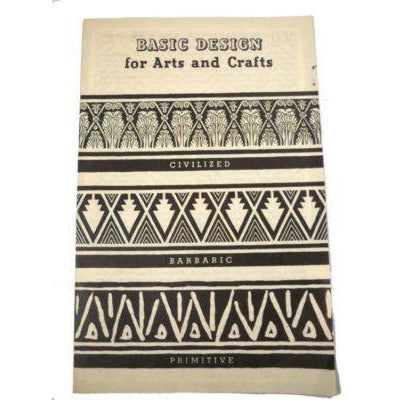Basic Design For Arts And Crafts Diamond Dyes 17 Page Booklet How To - The Best Vintage Clothing  - 1