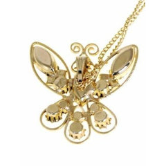 Vintage  Filigree Butterfly Necklace/Delicate Chain 1960S - The Best Vintage Clothing  - 2