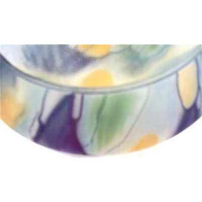 "Vintage  Frosted  Glass Bowl  6"" Arts & Crafts - The Best Vintage Clothing  - 1"