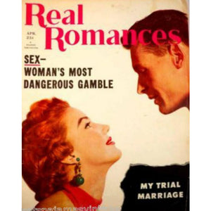 Vintage  Real Romances Magazine April 1954 - The Best Vintage Clothing