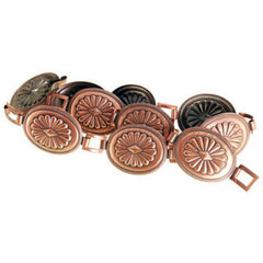 Vintage Belt Ladies 1950s Metal  Copper Links  Large Adjustable - The Best Vintage Clothing  - 1