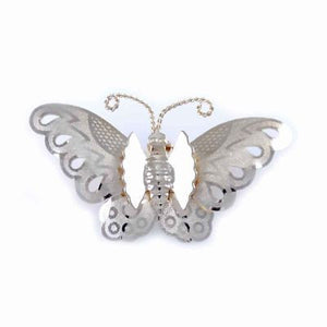 Vintage Brooch Goldtone Butterfly Pin 1950S - The Best Vintage Clothing  - 1