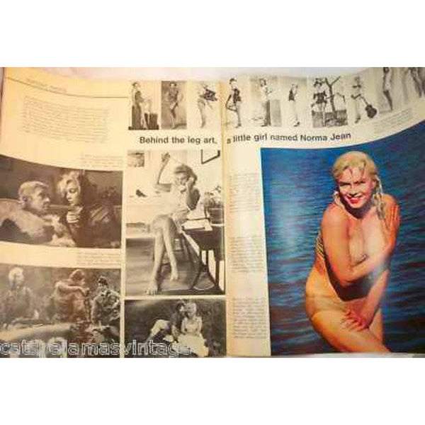 Vintage Life Magazine  Marilyn Monroe 1972 Fab Shoes Too - The Best Vintage Clothing  - 2