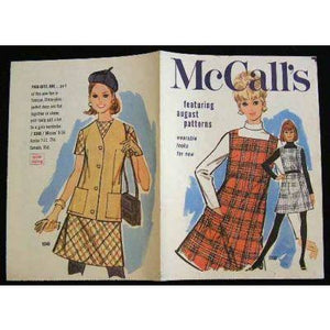 Vintage McCalls Fashion Review Catalogue August 1960S - The Best Vintage Clothing