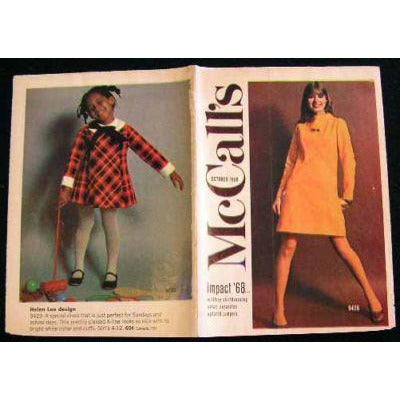 Vintage McCalls Fashion Review Catalogue October 1968 - The Best Vintage Clothing