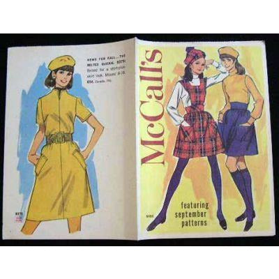 Vintage McCalls Fashion Review Catalogue September 1960S - The Best Vintage Clothing