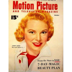 Vintage Motion Picture  Magazine November 1953  Janet Leigh - The Best Vintage Clothing