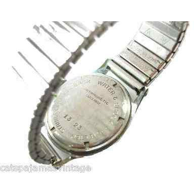 Vintage Nurses Wristwatch Multi Sweep Second Hand Swiss Made 1940s - The Best Vintage Clothing  - 2
