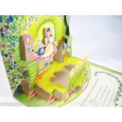 Vintage Pop Up Story Book Mistress Mary Geraldine Clyne 1950s - The Best Vintage Clothing  - 3