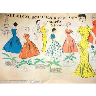 Vintage Simplicity Pattern Booklet Color  1950S - The Best Vintage Clothing  - 2