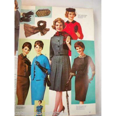 Vintage Singer Catalog 700 Pgs 1964 Barbie/Toys Color - The Best Vintage Clothing  - 2