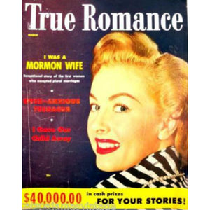 Vintage True Romance Magazine March 1954 - The Best Vintage Clothing