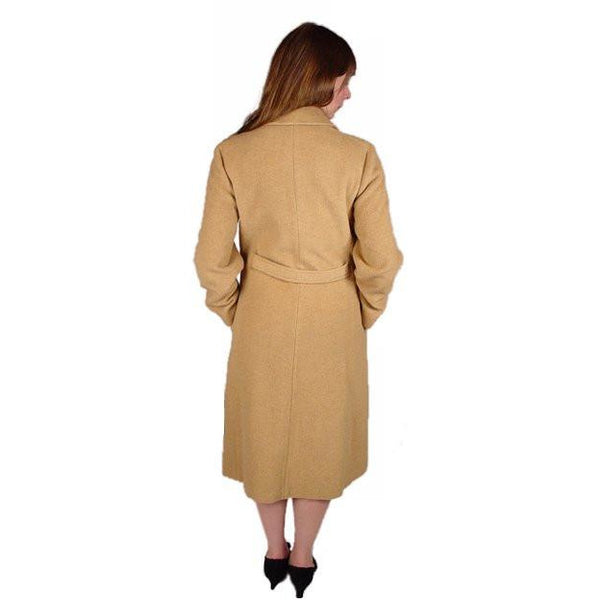 Vintage Coat Ultima 100% Camel Hair Classic Style 1970S Small -Med - The Best Vintage Clothing  - 2