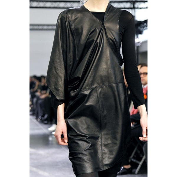 Junya Watanabe Buffalo Leather  A/W 2011 Dress One Size Investment Piece Designer - The Best Vintage Clothing  - 10
