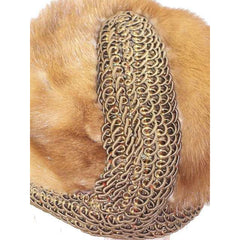 Vintage Autumn Haze Mink Hat Fab Soutache 1950S Robinsons - The Best Vintage Clothing  - 3
