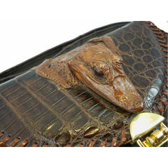 Vintage Alligator Purse Etco Baby Alligator Hand Bag  Florida 1940'S - The Best Vintage Clothing  - 2