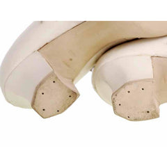 Vintage Mary Jane Shoe Ties 1920's Unique WOmens  Sz 5B NIB Brown Bilt Ivory - The Best Vintage Clothing  - 5