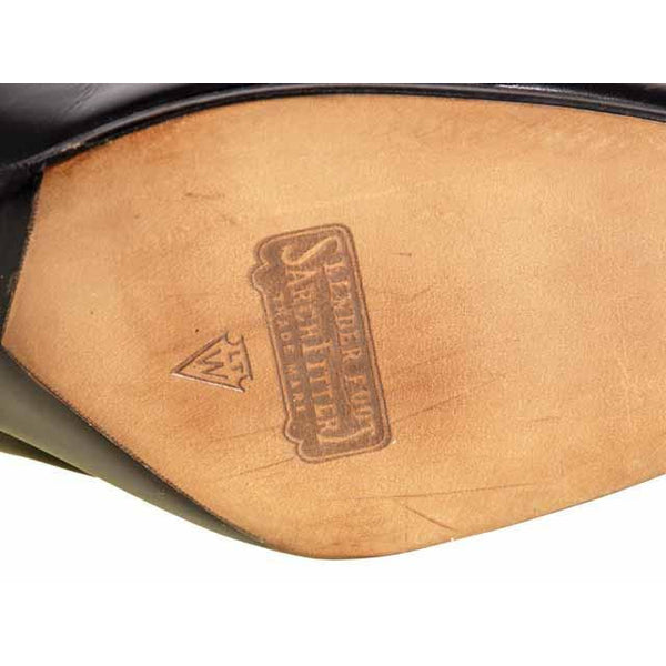 Vintage Black Leather Tie Oxfords 1920S  NIB Slenderfoot  Arch Fitter 5.5 B/D - The Best Vintage Clothing  - 5