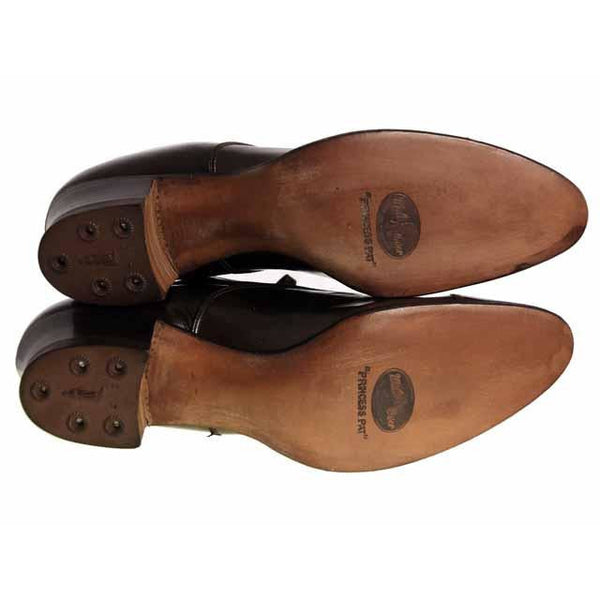 Vintage Brown Leather Early 1920S Oxford Shoe  EU 36 Ladies US Sz  6 NIB - The Best Vintage Clothing  - 6