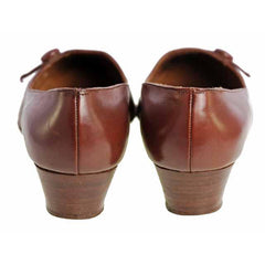 Vintage Womens Brown Leather Shoes Roger Vivier 1960s 9AA Box - The Best Vintage Clothing  - 5