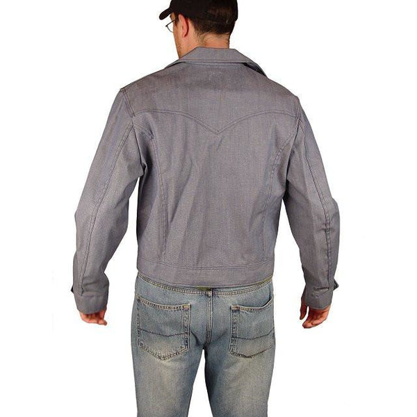 Vintage Mens Denim Workwear Jacket Lee Riders 46 Chest 1970S Never Worn - The Best Vintage Clothing  - 2