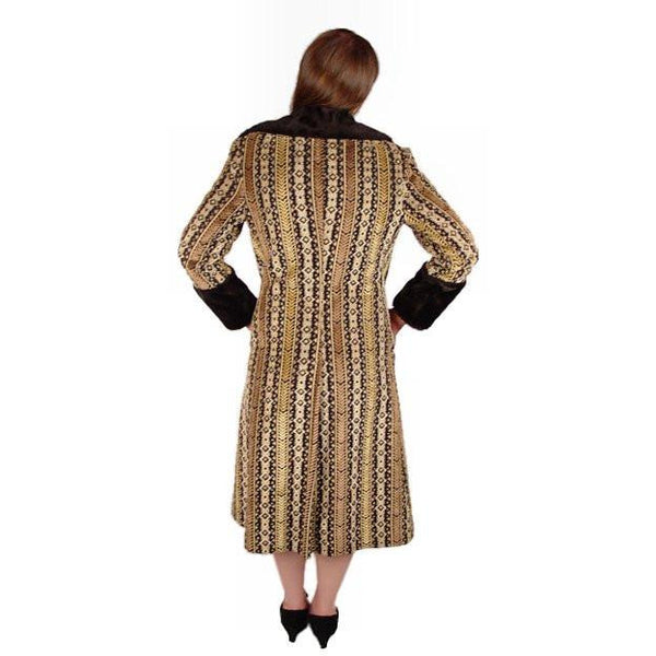 Vintage Geometric Cut Corduroy Coat Asymmetrical 1970S Medium - The Best Vintage Clothing  - 3