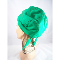 Vintage Green Silk Bubble Beehive Hat 1950s Large - The Best Vintage Clothing  - 3