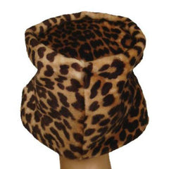 Vintage Hat Leopard Faux Fur Felt Bucket Hat 1950'S - The Best Vintage Clothing  - 2