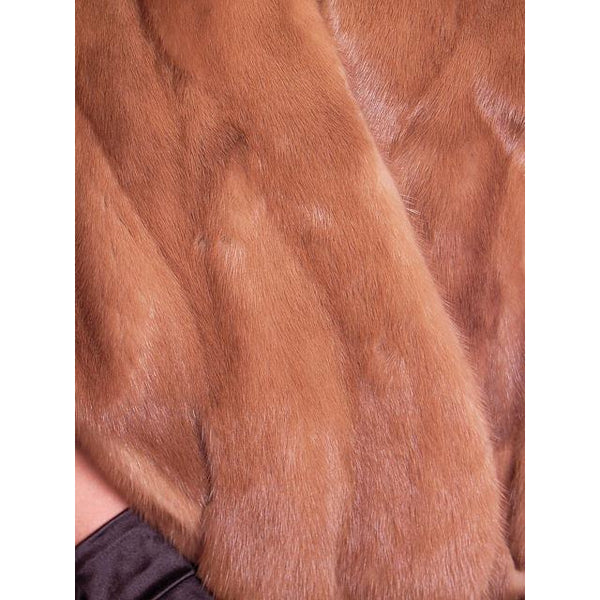 Vintage Mink Stole Light Autumn Haze Fur Stole Coronet Shops 1950 - The Best Vintage Clothing  - 5