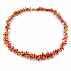 Vintage Natural Coral Necklace 1930S - The Best Vintage Clothing  - 2