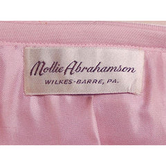 Vintage Pink Wool Suit Ben Zuckerman 1960's SZ 4 - The Best Vintage Clothing  - 6