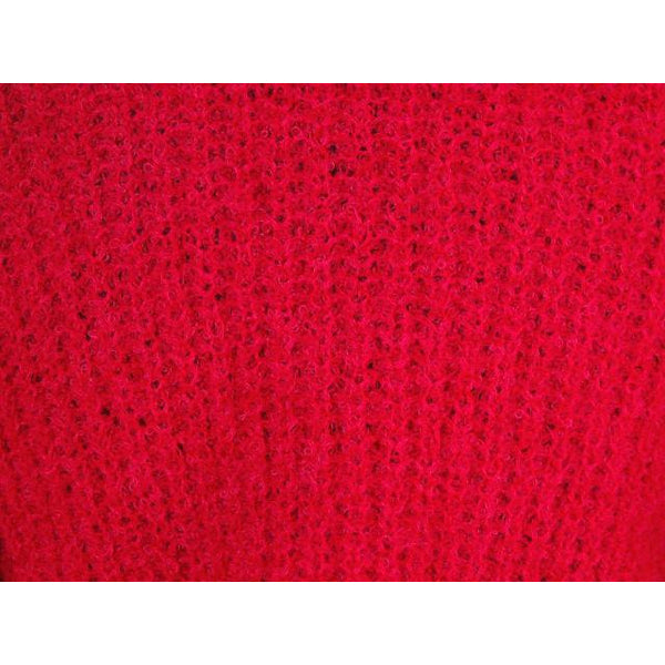 Vintage Schiaparelli Sweater Raspberry Wool  1950S Large - The Best Vintage Clothing  - 4