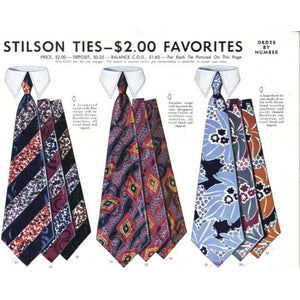 Vintage Stilson Tie Ad 1940'S 8X11 A1 - The Best Vintage Clothing