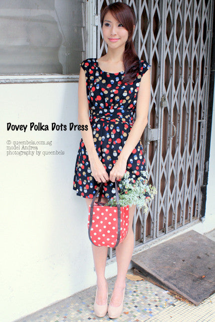 Dovey Polka Dots Dress