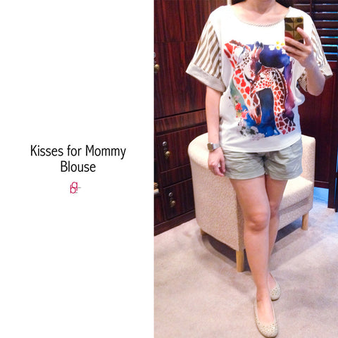 Kisses For Mommy Blouse