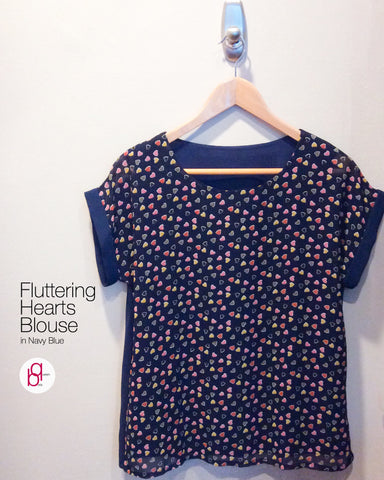 Fluttering Hearts Blouse